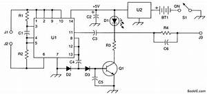 Crystal Activity Tester - Analog Circuit - Basic Circuit - Circuit Diagram