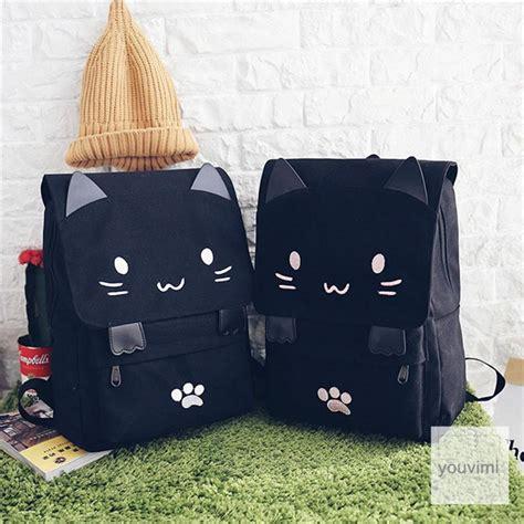 japanese cute kawaii cat shoulder bag yv youvimi