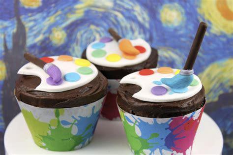 creative artist themed cupcakes cupcakes gallery