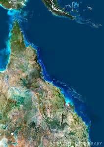 Great Barrier Reef Satellite