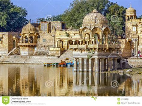 Gadi Sagar Gadisar, Jaisalmer, Rajasthan, India, Asia ...