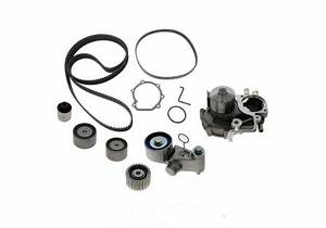 gates tckwp328c timing belt component kit w water pump With new wrx timing belt