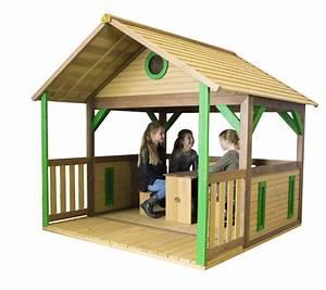 Spielhaus Für Den Garten : kinder spielhaus holz flaches offenes kinder spielhaus ~ Articles-book.com Haus und Dekorationen