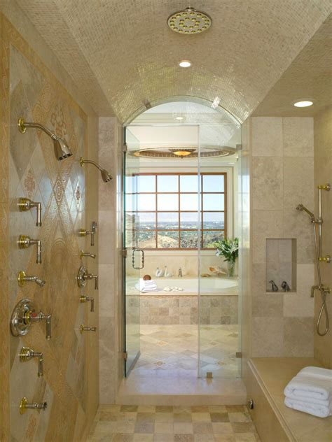 remodeling master bathroom ideas shower enclosures hgtv