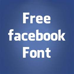 Gallery For > Facebook Font