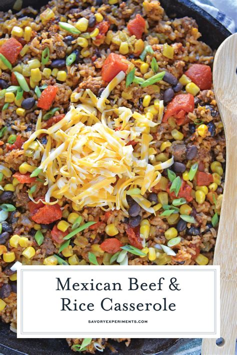 This recipe is one from a local b&b that i replaced all the sugar with substitutes because i have diabetes. Mexican Beef and Rice Casserole is an easy weeknight recipe using ground beef, taco seasoning ...