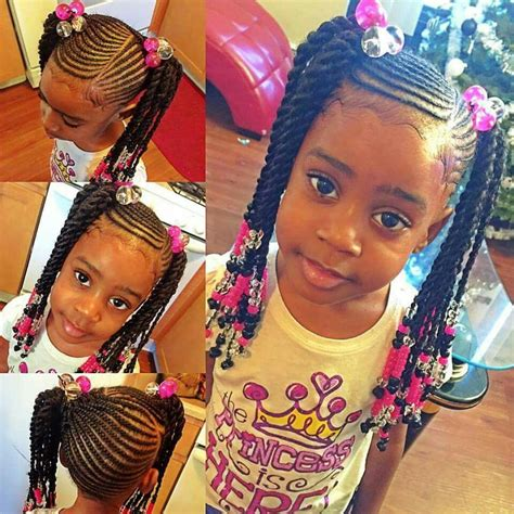 Such a cute braided hairstyle for little girls Hair