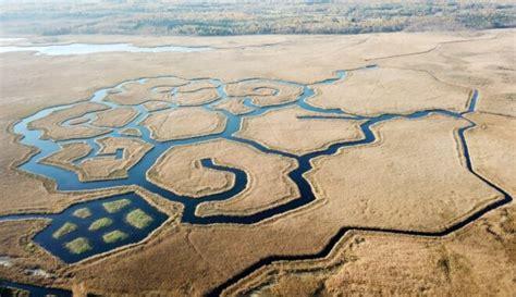 Neparastie kanālu raksti Engures ezerā - DELFI