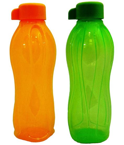 tupperware water bottle 500 ml set of 2 buy at best price in india snapdeal