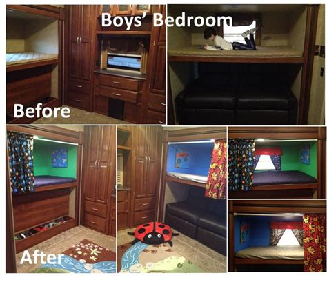 5th wheel cers with bunk beds 17 best images about cer redo on jayco