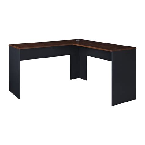 ameriwood l shaped desk shop ameriwood home the works transitional cherry l shaped