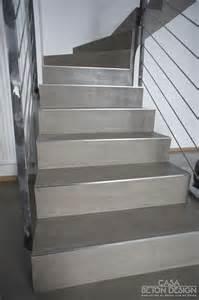 Pose Carrelage Escalier Sans Nez De Marche by Les 25 Meilleures Id 233 Es De La Cat 233 Gorie Escalier Beton Sur