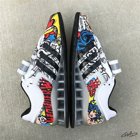 Wonder Woman Custom Hand Painted Adidas Adipower Olympic
