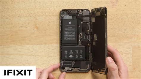 iphone xs max battery replacement  reassembly youtube