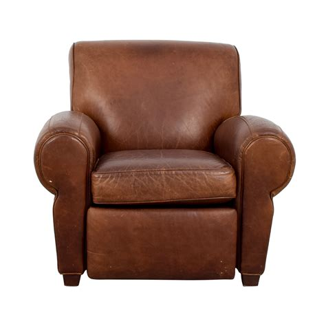 pottery barn leather chair 54 pottery barn pottery barn manhattan brown