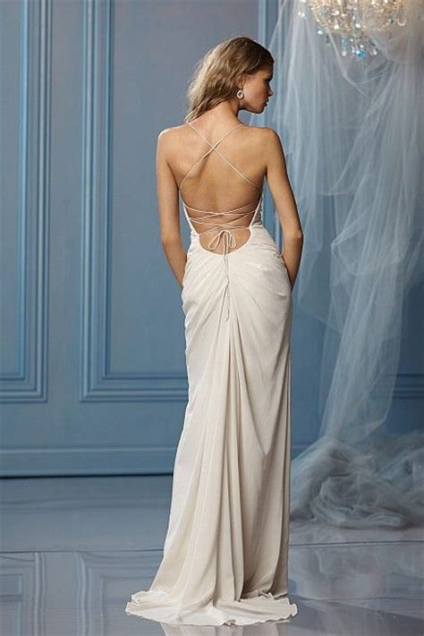 ideas    open  wedding dresses