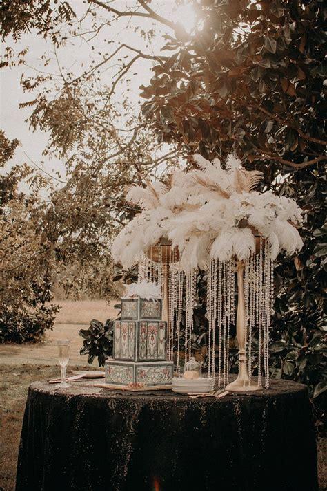 Great Gatsby Inspired Wedding A PRINCESS INSPIRED BLOG