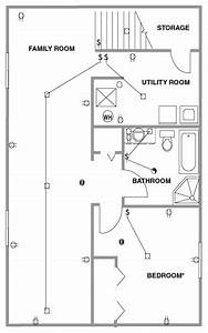 house plan showing a sample basement floor plan house With home theater design ideas i imagine this simple home theater design