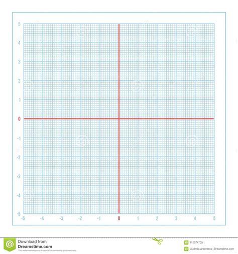 vector blue metric graph paper  coordinate axis stock vector illustration  blueprint