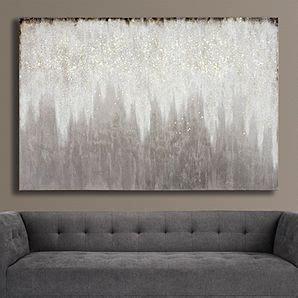 evening etoile  glitter wall art living room art