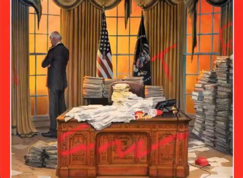 time releases day  cover  joe bidens presidency