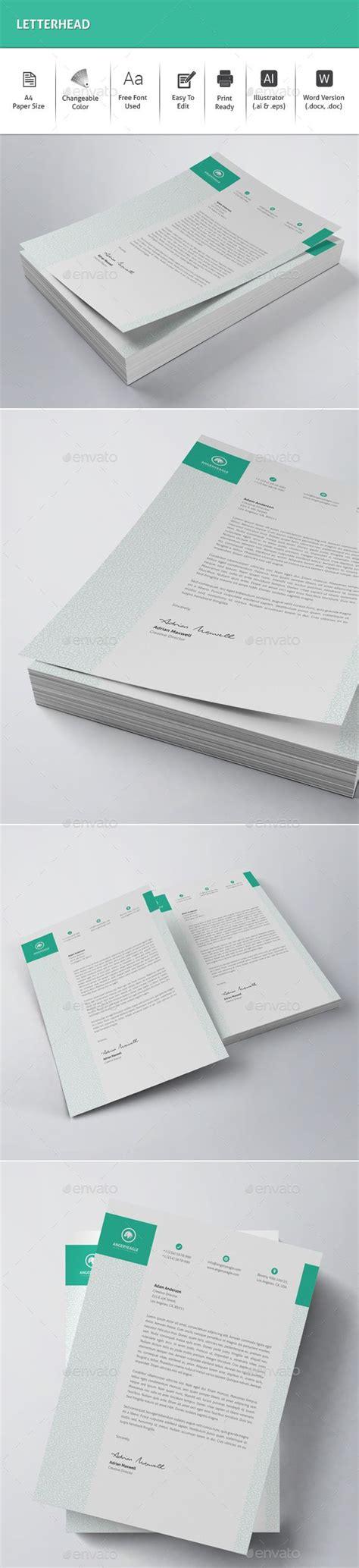 letterhead design template ms word vector eps ai