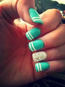 #Anchor nails #Nautical | Nautical nails, Anchor nail ...