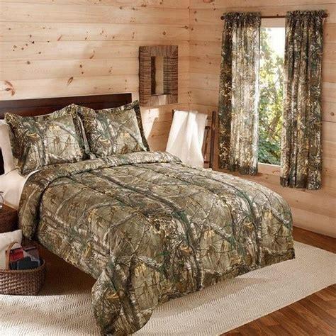 Camouflage Realtree Bedding Comforter Set Wshams Camo