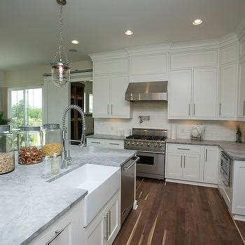 White Granite Countertops   Contemporary   kitchen