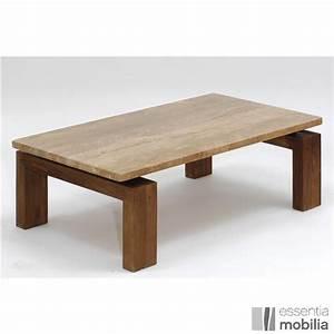 Table Plateau Marbre : table basse en teck massif avec plateau marbre ou granit ~ Teatrodelosmanantiales.com Idées de Décoration
