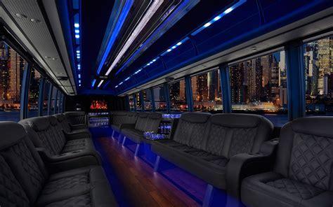 24 Passenger Party Bus Limousine Rental in Boston, MA