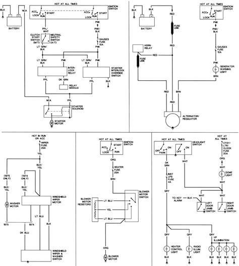 Need The Wiring Diagram For Camaro Ignition