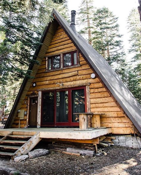 A Frame Cabin Plans by A Frame Log Cabin Cabin In The Woods A Frame Cabin A