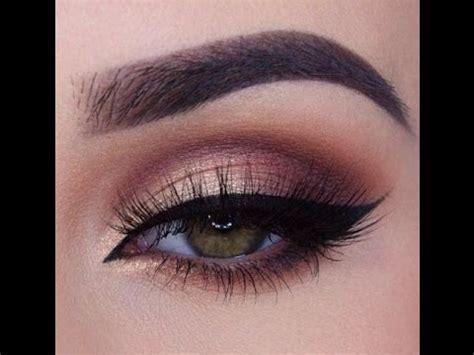 rose gold smokey eye makeup tutorial morphe brushes