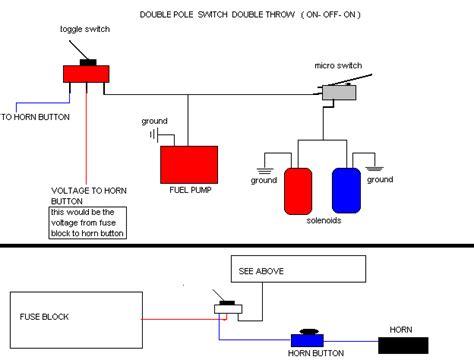 motorcycle nitrous horn wiring diagram