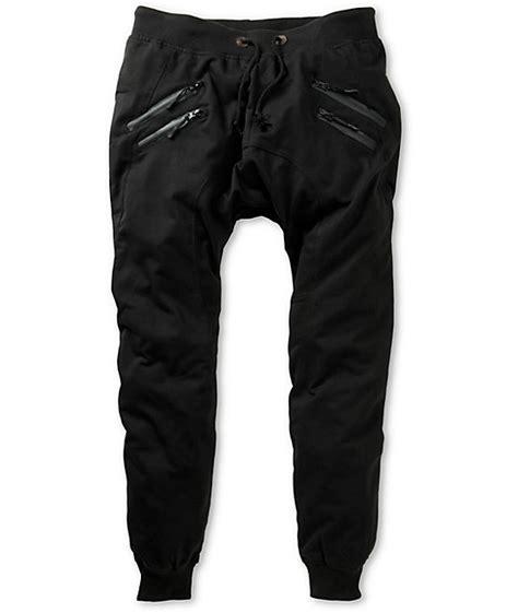 american stitch zipper jogger sweatpants zumiez