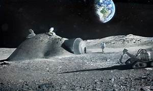 Building a Lunar Base with 3D Printing | Solar System ...