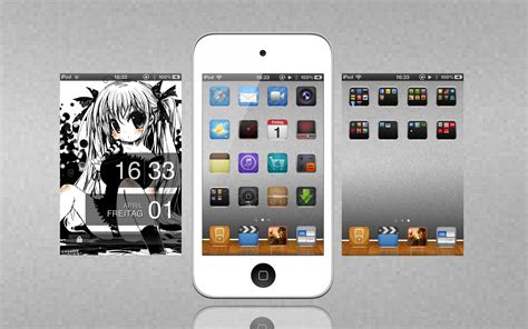 Ipod Touch Anime Wallpaper - ipod touch anime by kingmani100 on deviantart