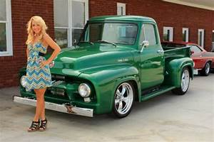 Sell New 1954 Ford F100 Pick Up Street Rod Ac Ps Pdb 350 Auto Great Driver Must See In Lenoir