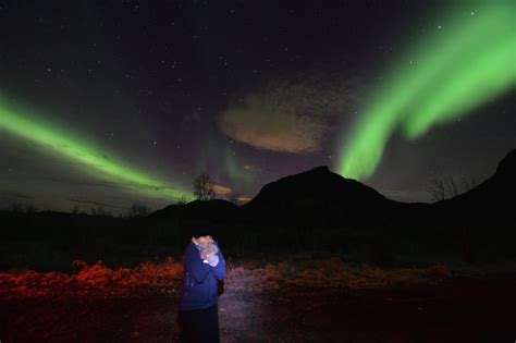 chasing the northern lights in tromso atlas boots