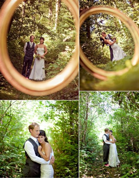 Cool Idea To Take A Picture Through A Wedding Ring
