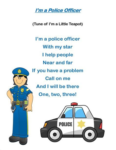 police officer lesson plans for preschool officer activities for preschool free clipart 262