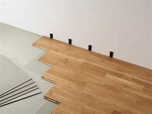 bricoartdeco comment poser un parquet flottant With comment poser un parquet clipsable
