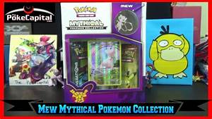 Pokemon Cards - Mythical Mew Collection Box Opening with ...