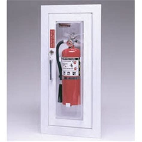 Larsens Extinguisher Cabinets Maintenance by Larsen S Cameo Series Provides An Attractive As Well As A