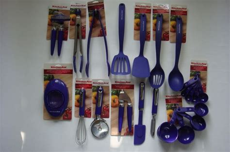 kitchenaid utensils grape purple color hbia
