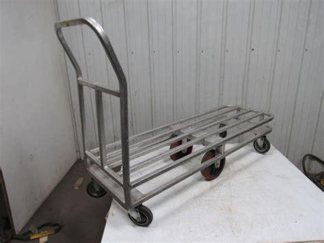 aluminum  wheel stocking utility  cart