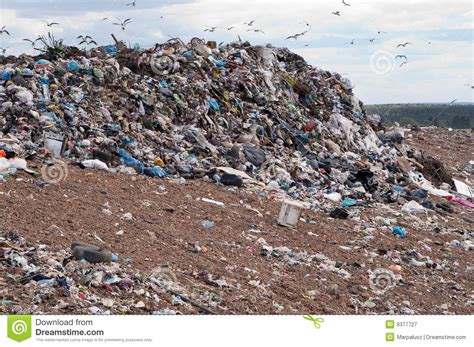 Garbage Dump Royalty Free Stock Photography