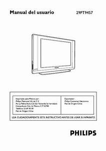 Philips 29pt9457  Television Download User Guide For