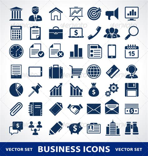 14701 business icon vector trade office icons 187 tinkytyler org stock photos graphics